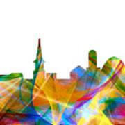 Alexandria Virginia Skyline Poster