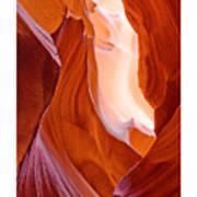 Antelope Canyon Poster by Carl Amoth
