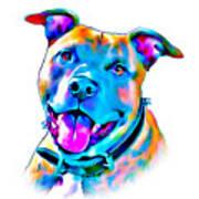 Art Dogportrait Poster