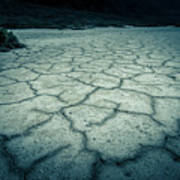Badwater Basin Death Valley Salt Formations Poster