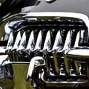 Black Corvette Poster