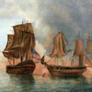 Bonhomme Richard, 1779 Poster