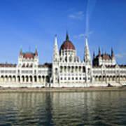 Budapest, Parliament Building  Poster