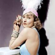 Carole Lombard, Ca. 1930s Poster