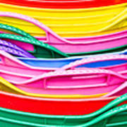 Colorful Plastic Poster