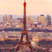 Eiffel Tower At Sunrise - Paris Poster