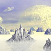 Fantasy Landscape Poster