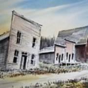Garnet Ghost Town Montana Poster