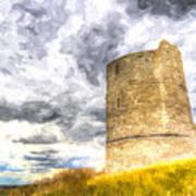 Hadleigh Castle Art Poster