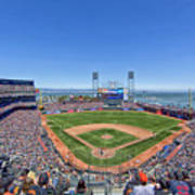 Home Of The San Francisco Giants Poster