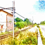House On The Railway Poster