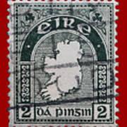 Irish Postage Stamp Poster
