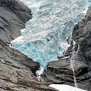 Jostedalsbreen National Park Poster