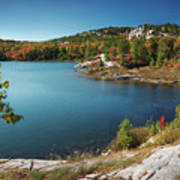 Killarney Provincial Park In Fall Poster
