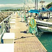 Lahaina Harbor Maui Hawaii Poster