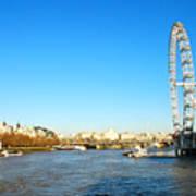 London Eye Poster