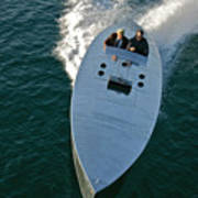 Mercury Race Boat Poster