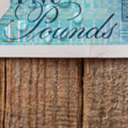 New Uk Five Pound Note Poster