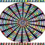 Novino Sale Fineart Chakra Mandala Round Circle Inspirational Healing Art At Fineartamerica.com By N Poster