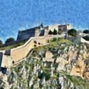 Palamidi Castle Poster
