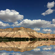 Red Rock Reflections Poster
