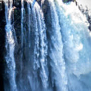 Snoqualmie Falls Washington State Nature In Daylight Poster
