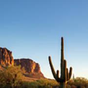 Superstition  Mountains Arizona Poster