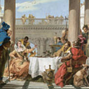 The Banquet Of Cleopatra Poster