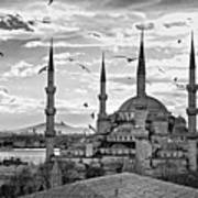 The Blue Mosque - Istanbul Poster