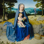 The Rest On The Flight Into Egypt Poster