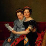 The Sisters Zenaide And Charlotte Bonaparte Poster