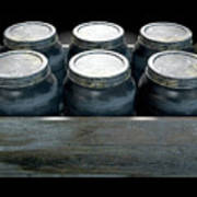 Whiskey Jars In A Crate Poster