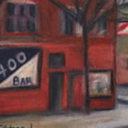 400 Bar Minneapolis Poster