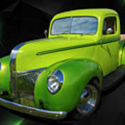 40s Ford Poster