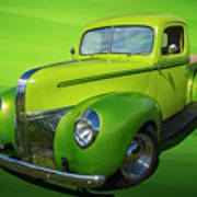 40s Ford Pickup Poster