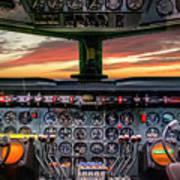4245- Cockpit Poster
