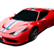 458 Speciale Poster