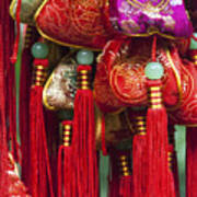 4647- Chinese Tassels Poster