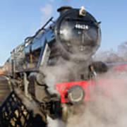 48624 Steam Locomotive Poster
