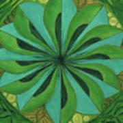 4th Mandala - Heart Chakra Poster