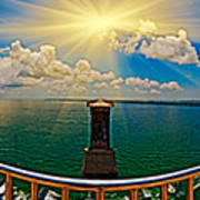 4x1 Bahia Honda Bridge Panorama Poster
