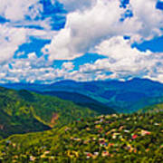 4x1 Philippines Panorama Baguio Poster