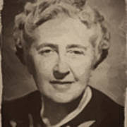 Agatha Christie 2 Poster