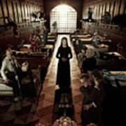 American Horror Story Asylum 2012 Poster