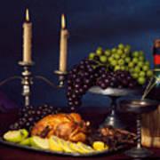 Artistic Food Still Life Poster
