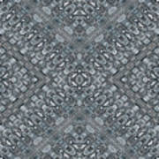 Aztec Navajo Pattern Background Poster