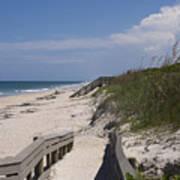 Brevard County Florida Beaches Poster