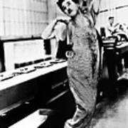 Chaplin: Modern Times, 1936 Poster
