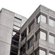 Concrete Building Poster