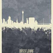 Dusseldorf Germany Skyline Poster